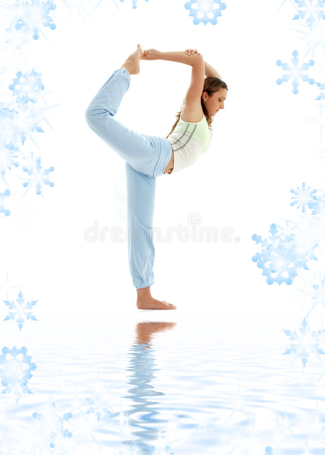 Download Natarajasana Lord Of The Dance Pose Stock Photo - Image: 6493230