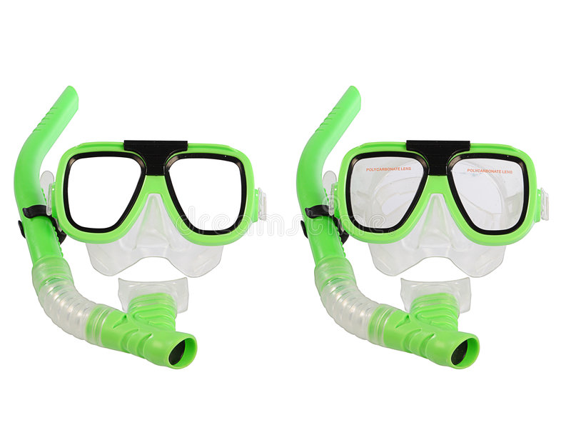 natation de masque photographie stock libre de droits