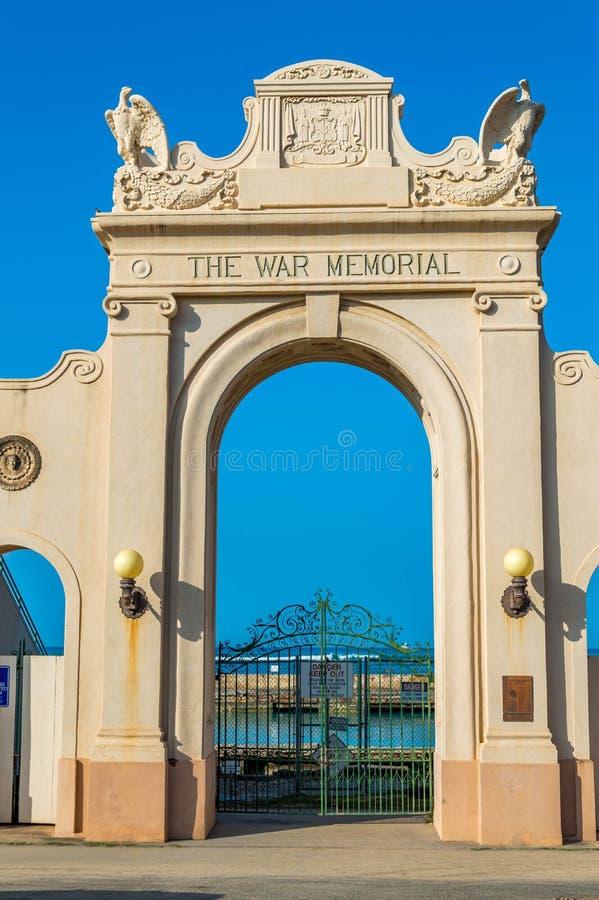 Natatorium del monumento de guerra imagen de archivo libre de regalías