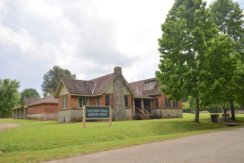 Natchez Trace Group Lodge fotos de stock royalty free