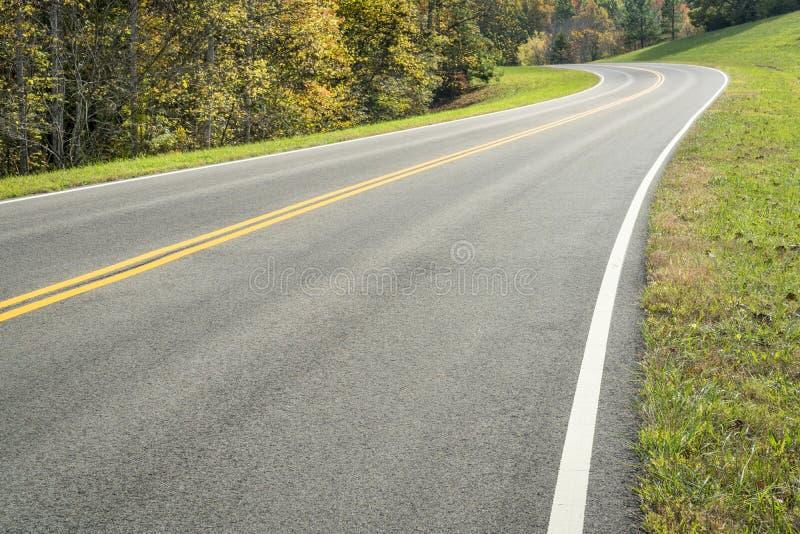 Natchez Trace Parkway photo libre de droits