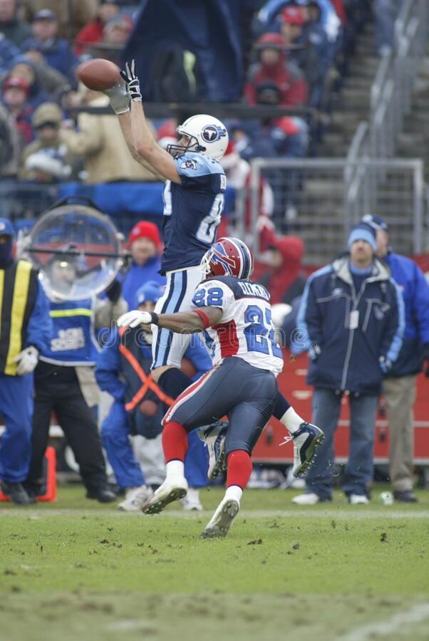 Nate Clements. Buffalo Bills defensive back Nate Clements stock images