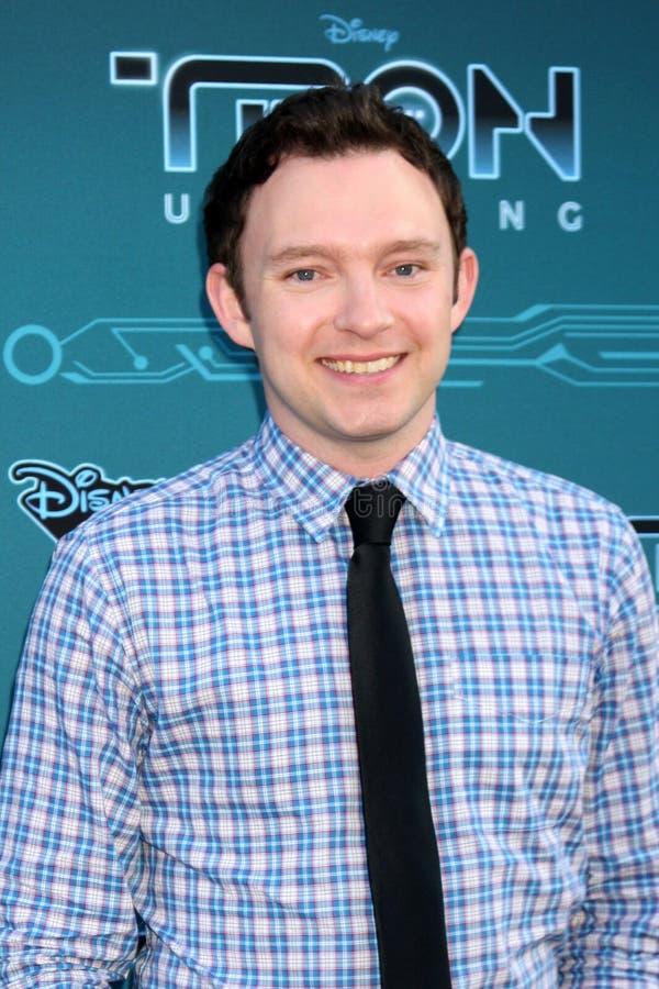 Nate Corddry komt in Disney XD aan   stock afbeeldingen
