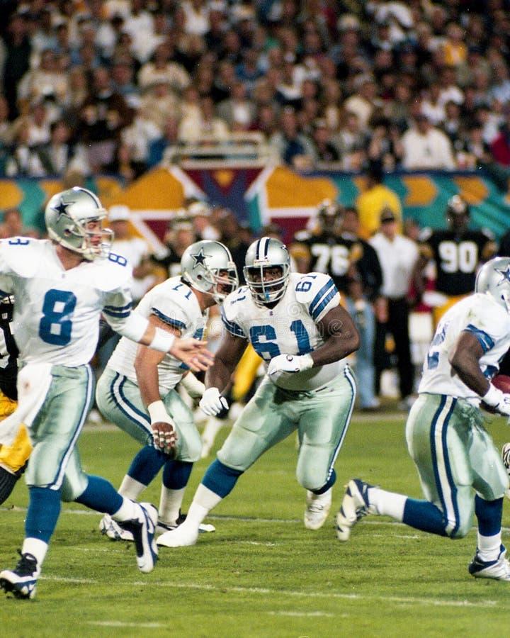 Nate Newton, Dallas Cowboys Offensive Lineman royalty-vrije stock afbeelding