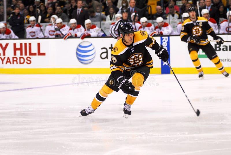 Nathan Horton Boston Bruins. Forward #18 stock photography
