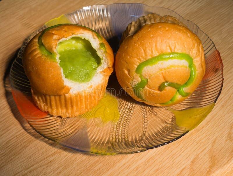 Natillas del pan saltadas