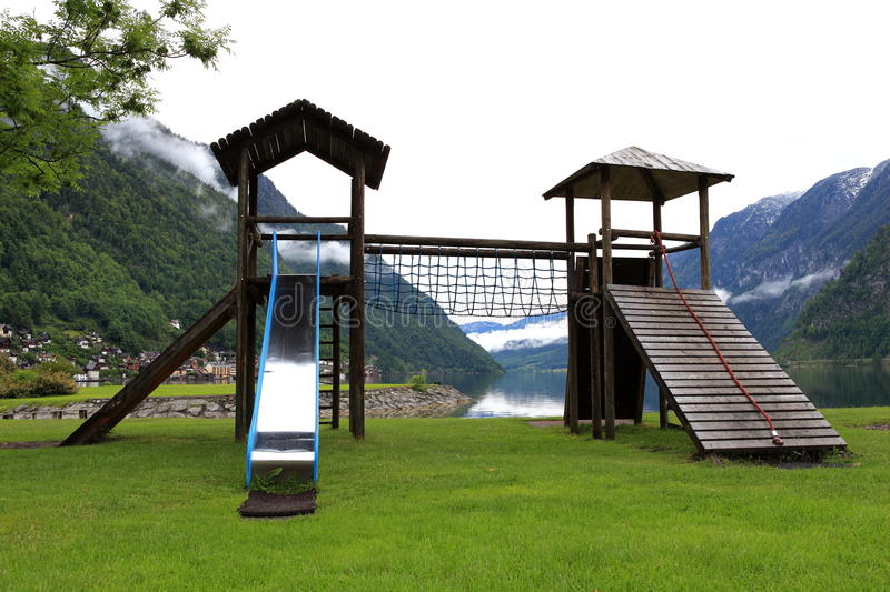 Download The Nation Children Playground On Park Stock Photo - Image: 31846562