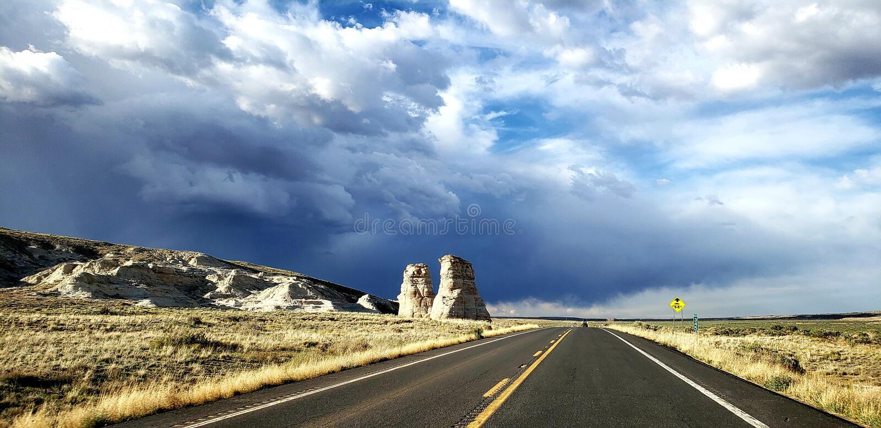 Nation de Navajo/pieds d'éléphants image stock