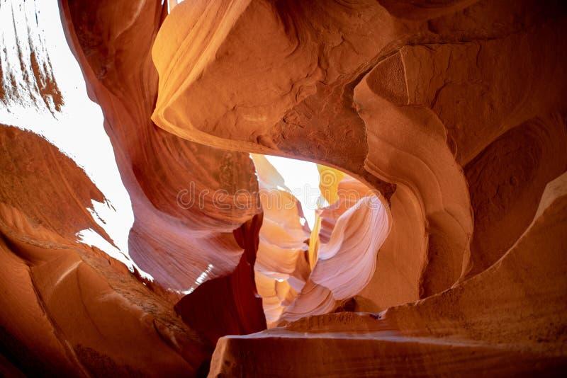 Nation du nord de Navajo de l'Arizona de canyon d'antilope image stock