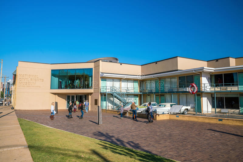 Nationaal Burgerrechtenmuseum stock foto's
