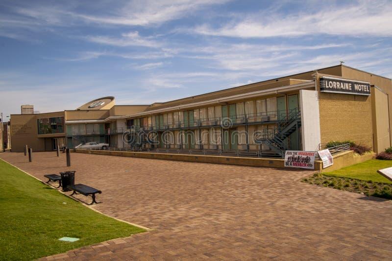 Nationaal Burgerrechtenmuseum Memphis, TN stock afbeelding