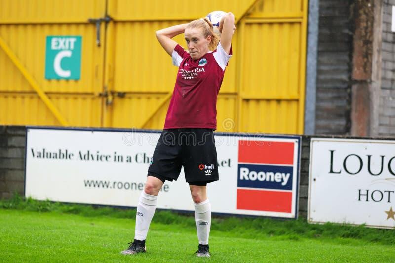 Nationaal de Ligaspel van vrouwen: Galway WFC versus Verenigde Peamount stock fotografie