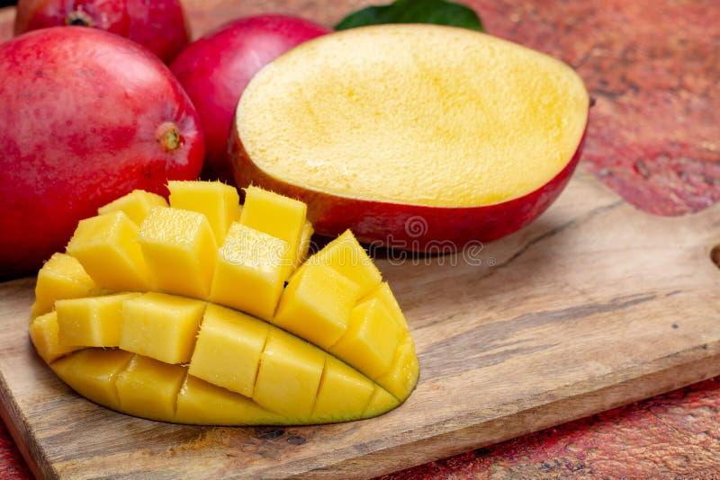 Nationaal fruit van India, Pakistan, en tropische orga van Filippijnen stock afbeeldingen
