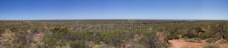 Nationaal het Parkpanorama van de kaapwaaier stock afbeeldingen