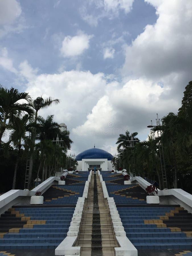 Nationaal het Planetariumcentrum van Maleisië in Kuala Lumpur stock afbeelding