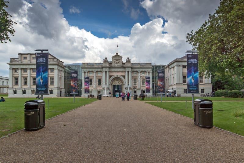 Nationaal Maritiem Museum in Greenwich, Londen, Engeland, Groot-Brittannië royalty-vrije stock foto