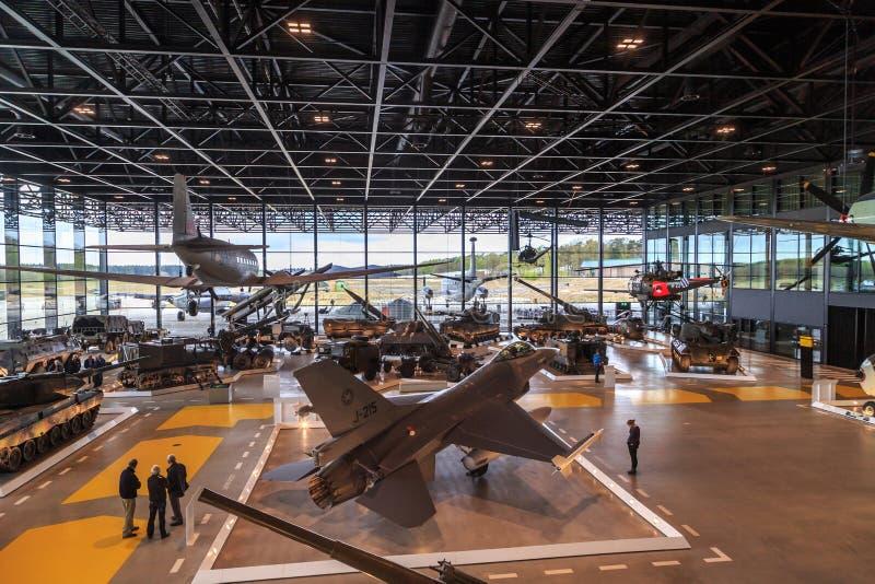 Nationaal Militair Museum, Nederland royalty-vrije stock foto