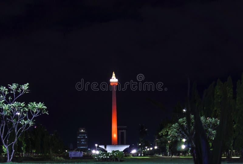 Nationaal Monument Djakarta Indonesië stock afbeelding
