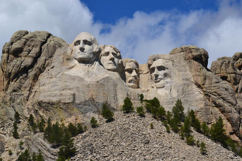 Nationaal Monument onderstel-Rushmore stock fotografie