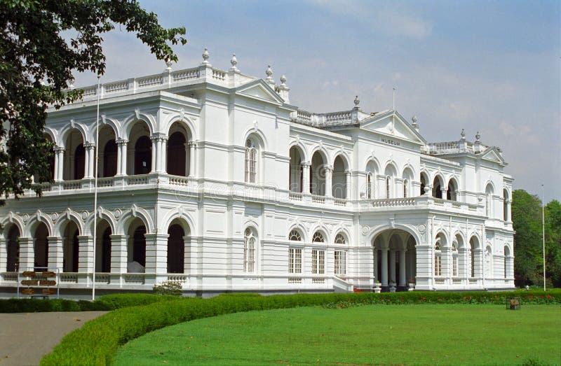 Nationaal Museum, Colombo, Sri Lanka stock foto