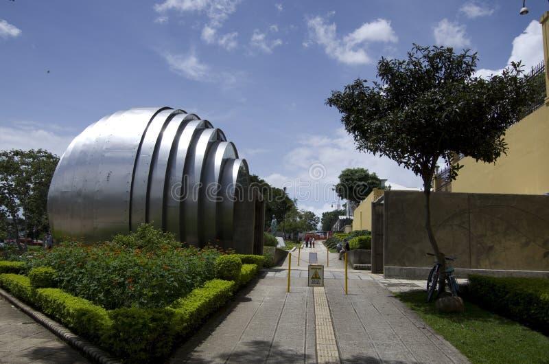 Nationaal Museum Costa Rica San Jose stock afbeelding