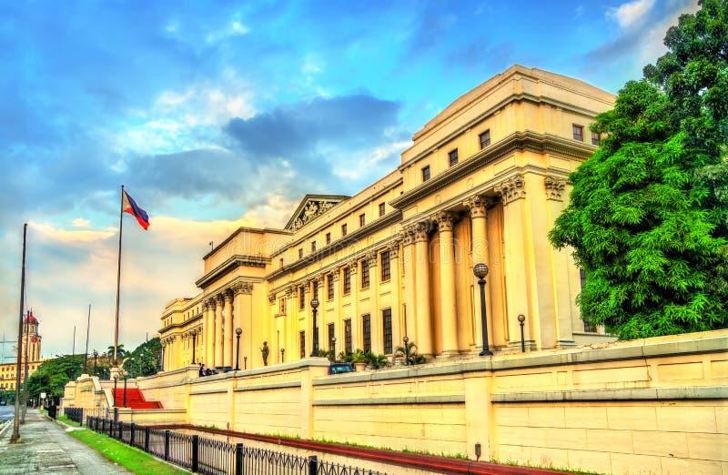 Nationaal Museum van Beeldende kunsten in Manilla, Filippijnen stock afbeeldingen