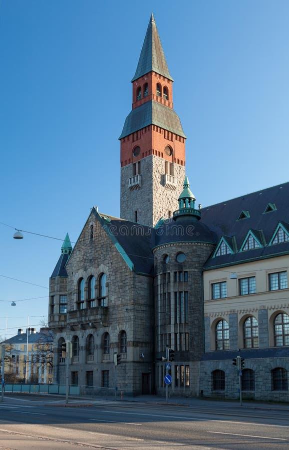 Nationaal Museum van Finland royalty-vrije stock foto's