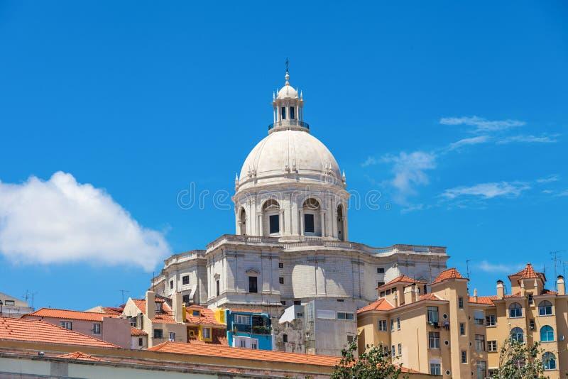 Nationaal Pantheon, Lissabon stock fotografie