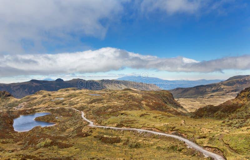 Nationaal park Sangay in Ecuador royalty-vrije stock foto