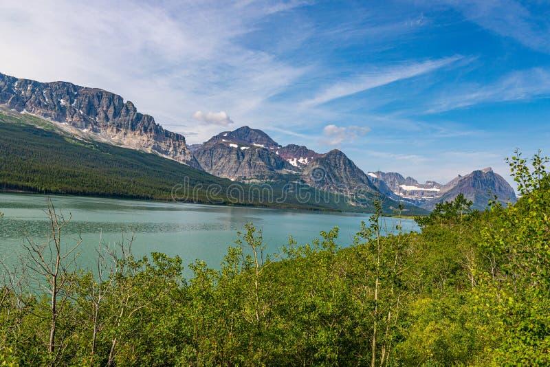 Nationaal park Sherburne Glacier royalty-vrije stock afbeeldingen