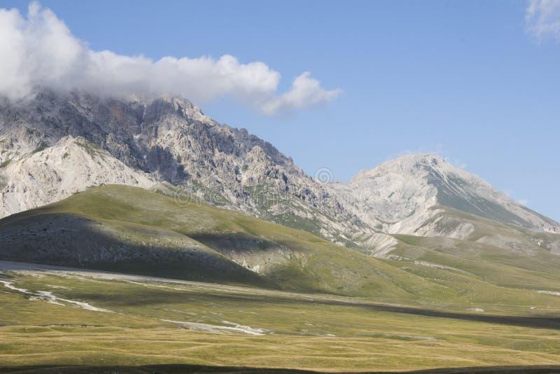 Nationaal park van Gran Sasso en Monti della Laga royalty-vrije stock afbeeldingen
