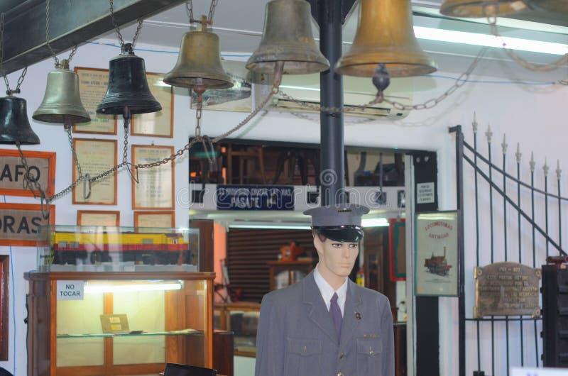 Nationaal spoormuseum Argentinië, Buenos aires stock afbeelding