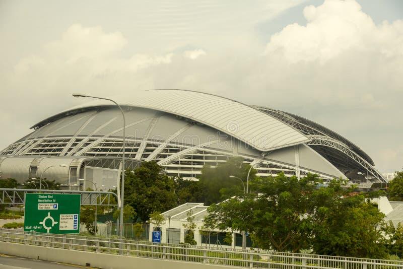 Nationaal Stadion, Singapore stock foto