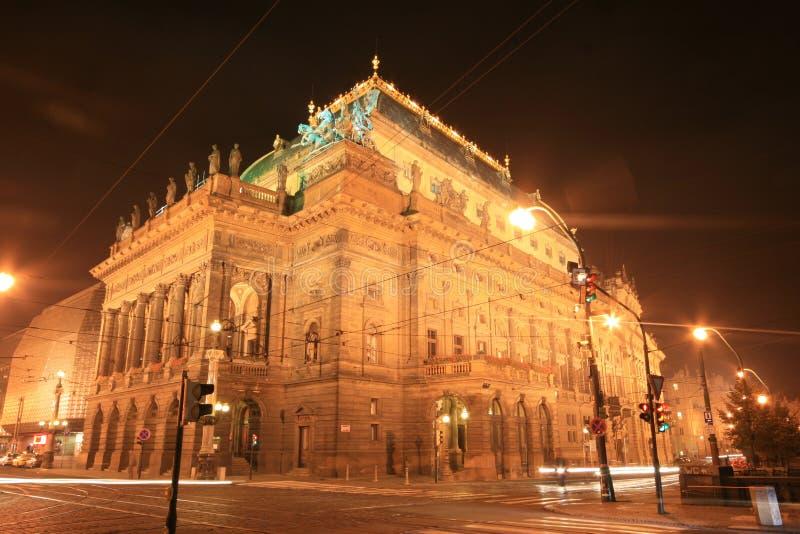 Nationaal theater royalty-vrije stock afbeeldingen