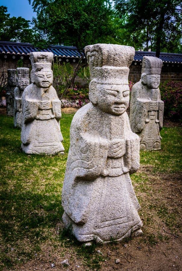Nationaal VolksMuseum van Korea stock fotografie
