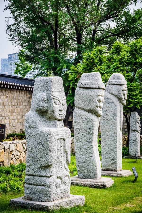 Nationaal VolksMuseum van Korea royalty-vrije stock afbeeldingen