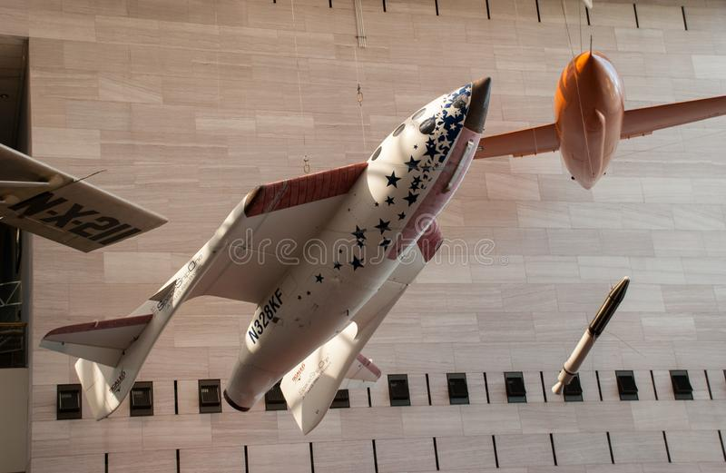 National Air and Space Museum (NASM royalty free stock images