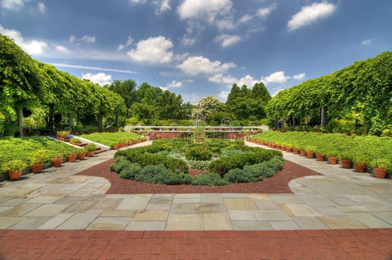 National Arboretum Washington DC stock photography