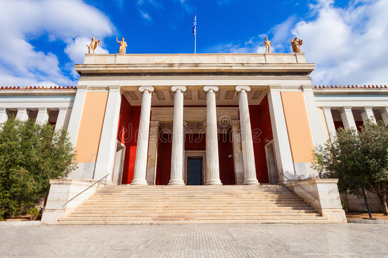 National Archaeological Museum, Athens. The National Archaeological Museum in Athens houses the most important artifacts from a variety of archaeological stock photography