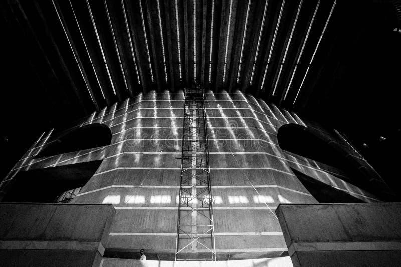 National Assembly Building Dhaka stock photo