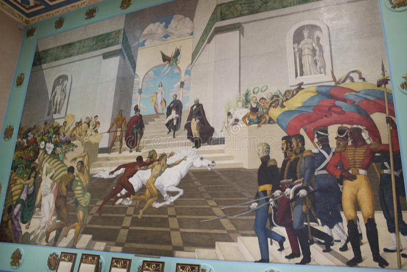 National Assembly Capitolio Congress politics Deputies Downtown Caracas Venezuela stock photos