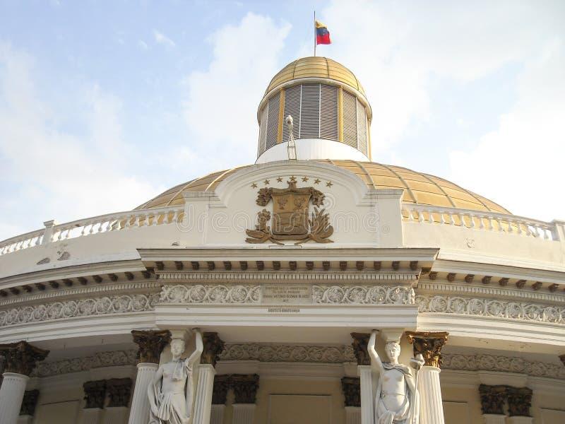 National Assembly Capitolio Congress politics Deputies Downtown Caracas Venezuela royalty free stock photography