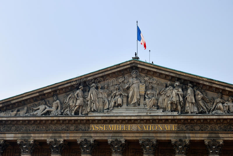 Download The National Assembly In Paris Stock Image - Image: 27181651