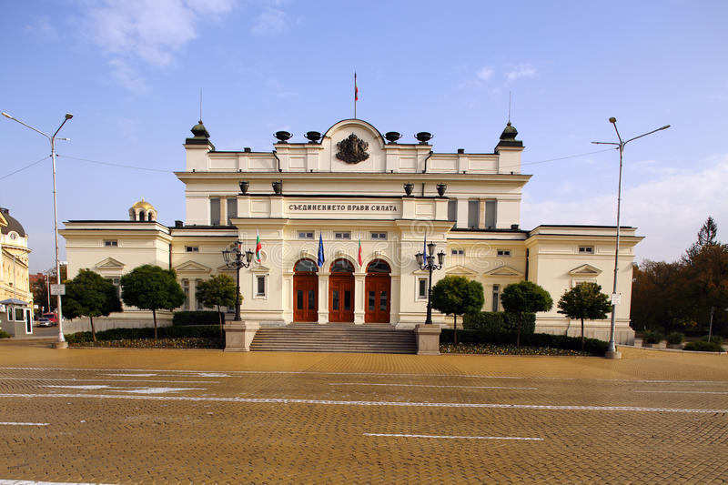 The National Assembly's main building stock photography