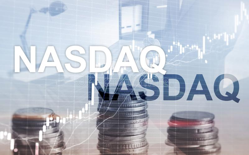 National Association of Securities Dealers Automated Quotation NASDAQ stockbild