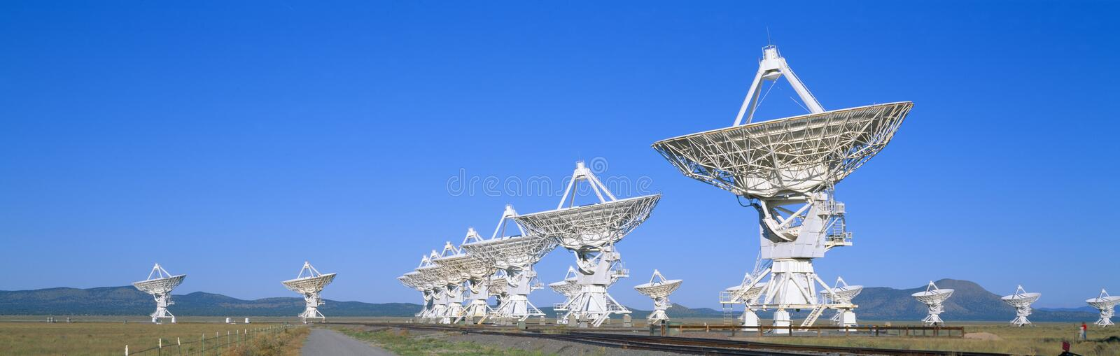 National Astronomy Observatory, Socorro, New Mexico stock image