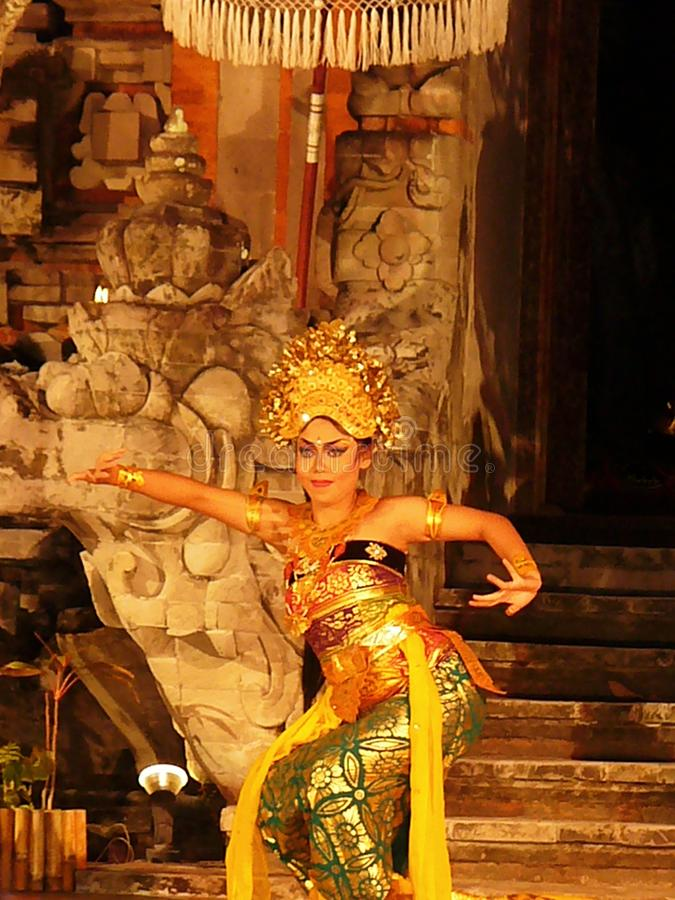 National balinese dance, Balinese dancers stock photo