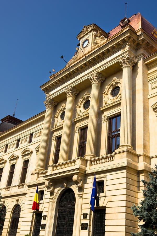 National Bank Of Romania stock image