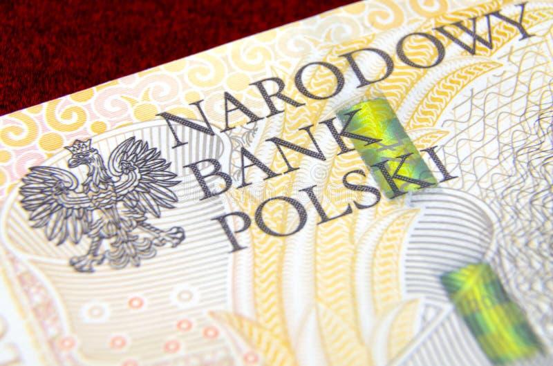 National Bank van Polen royalty-vrije stock foto