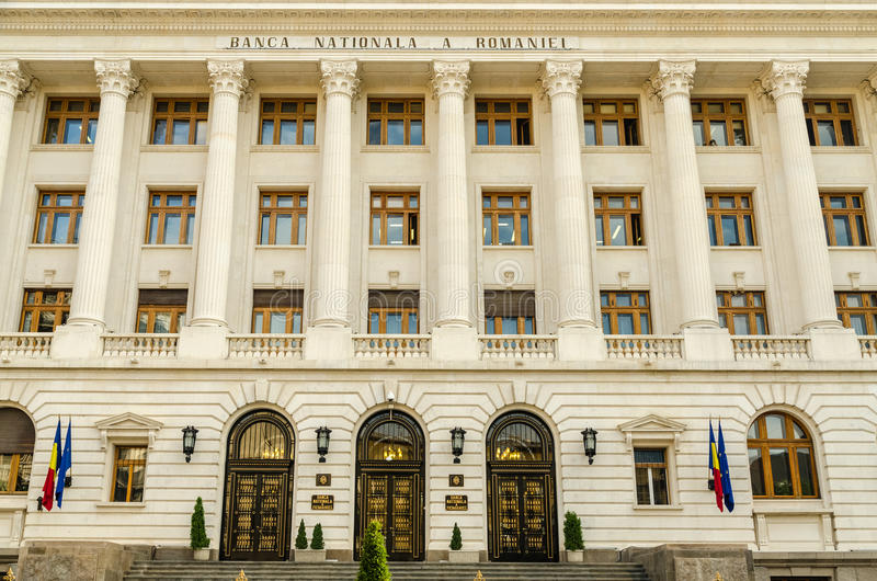 National Bank von Rumänien lizenzfreies stockbild